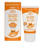 Alphanova Sun zonnebrand milk baby SPF50 zonder parfum