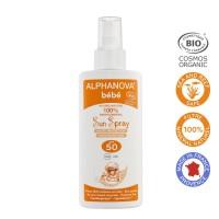 Alphanova Sun zonnebrand creme SPF50 baby zonder parfum