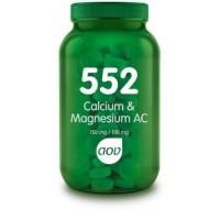 AOV 552 Calcium AC 150 mg / Magnesium AC 100 mg