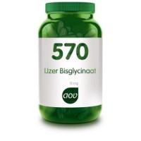 AOV 570 IJzer bisglycinaat 15mg