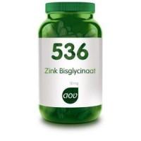 AOV 536 Zink bisglycinaat 15mg