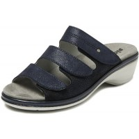 Bighorn klompen, schoenen,sandalen Bighorn - 6327 slipper blauw uitneembare zool