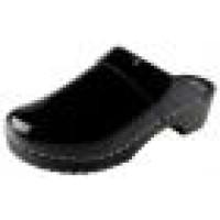 bighorn klompen sandalen en schoenen, klomp zwart lak