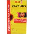 Bloem Vrouw en Balans