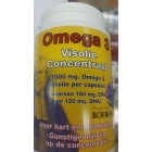BOERHAAVE Omega 3 Visolie 1000 mg 500 capsules