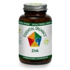 Essential Organics  Zink 25 mg citraat