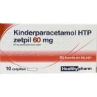 Healthypharm Paracetamol  Kind 60 mg zetpillen