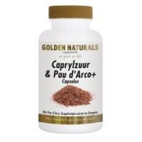 Golden Naturals Caprylzuur & Pau d'Arco Capsules