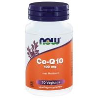 CoQ10 100 mg met Meidoorn Now