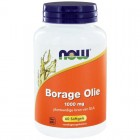 Borage Olie 1000 mg Now