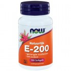 Vitamine E-200 Gemengde Tocoferolen Now
