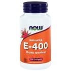 Vitamine E-400 d-alfa Tocoferyl Now