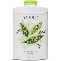 Yardley Lily of the valley talc tin Talkpoeder