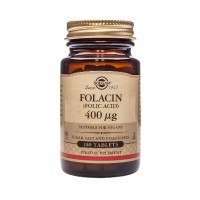 Folacin (folic acid) 400 mcg tablets