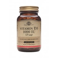 Vitamin D-3 25 mcg/1000 IU softgels