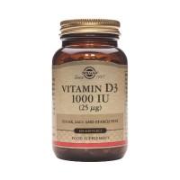 Vitamin D-3 25 mcg/1000 IU softgels