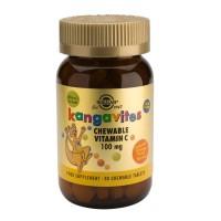 Kangavites Chewable Vitamin C 100 mg