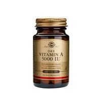 Vitamin A 5000 IU (1502 mcg)