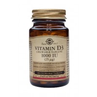 Vitamin D-3 1000 IU/25 mcg Chewable Tablets
